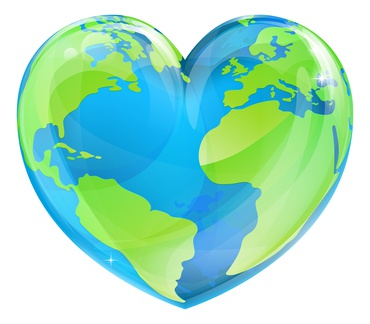 Earth Day Heart