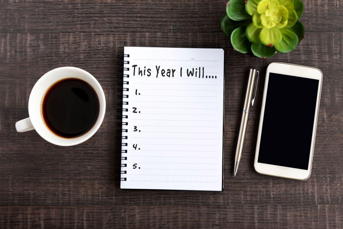 Financial goals financial resolutions