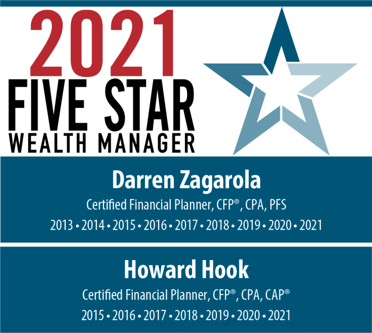 Five Star Wealth Manager Darren Zagarola Howard Hook