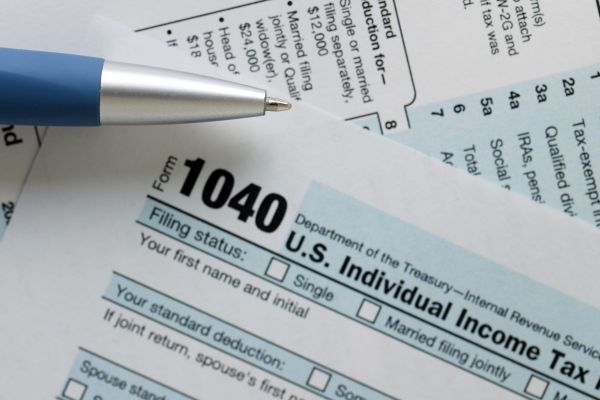 form 1040 qualified charitable distribution