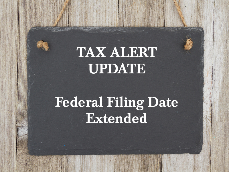 federal filing date extended
