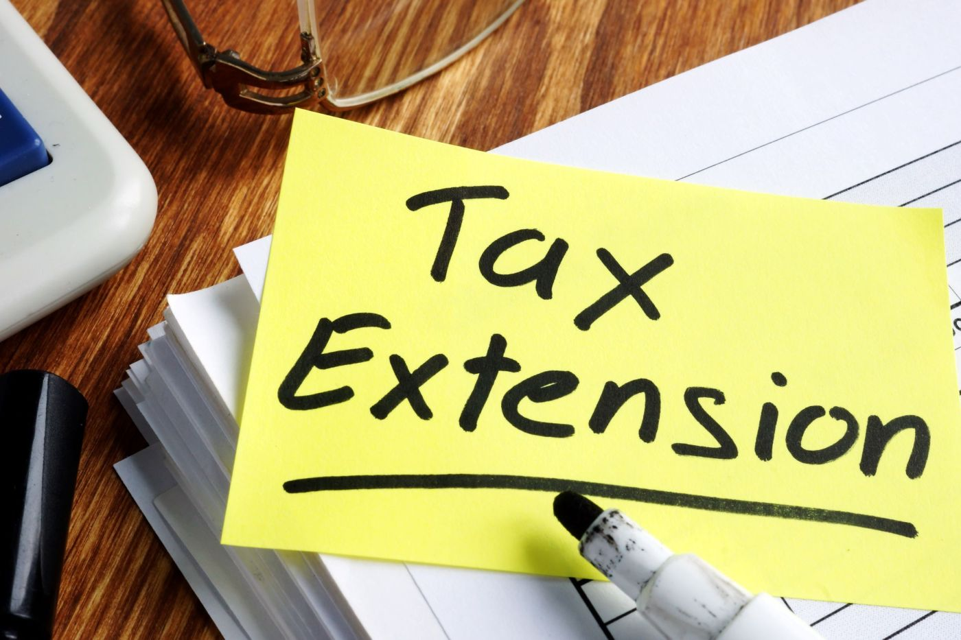 tax payment extension